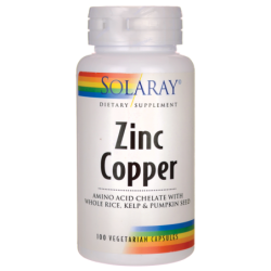 Zinc Copper, 100 Veg Caps