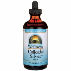 Wellness Colloidal Silver, 30 ppm 8 fl oz (236.56 mL) Liquid