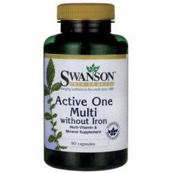Active One Multivitamin without Iron, 90 Caps