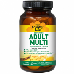 Adult Multi Chewable, 60 Wafers