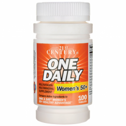 One Daily Womens 50, 100 Tabs