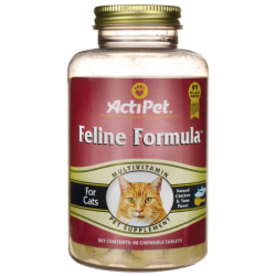 Feline Formula Multivitamin for Cats, 90 Chwbls