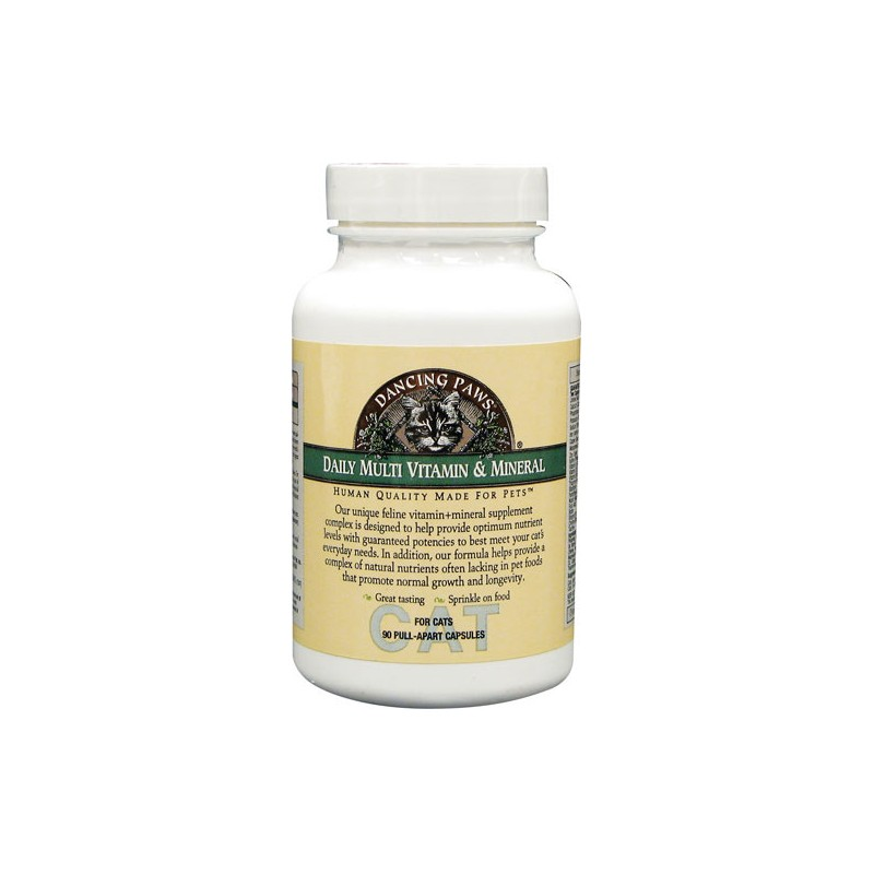 Daily Multi Vitamin & Mineral for Cats, 90 Ct