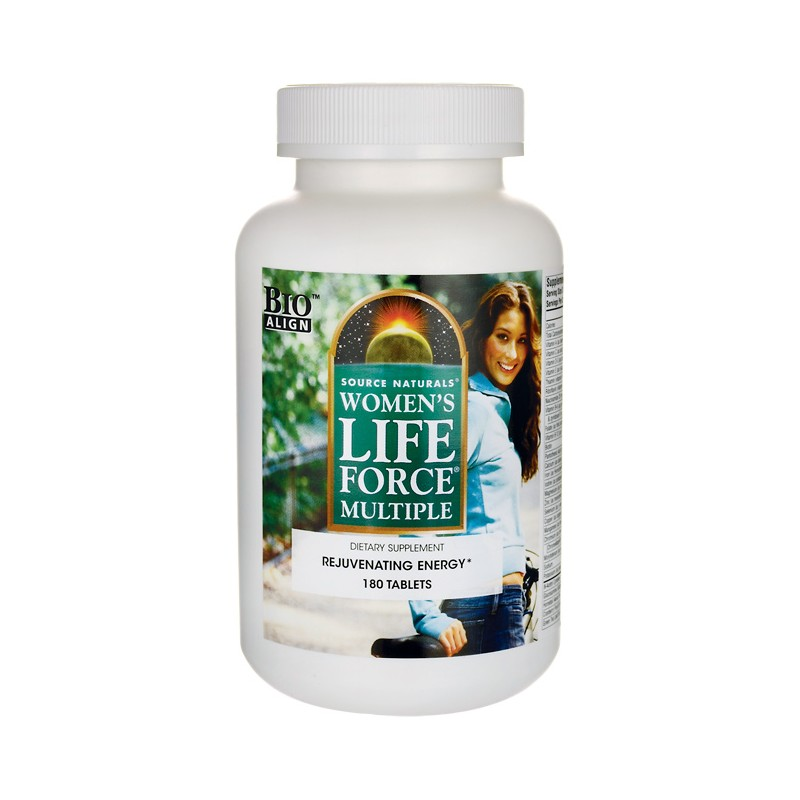 Womens Life Force Multiple, 180 Tabs