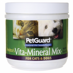 Anitras VitaMineral Mix For Cats & Dogs, 8 oz Pwdr