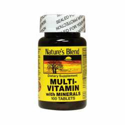 MultiVitamin with Minerals, 100 Tabs