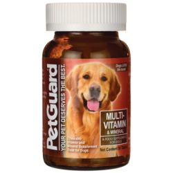 MultiVitamin & Mineral For Dogs, 50 Tabs