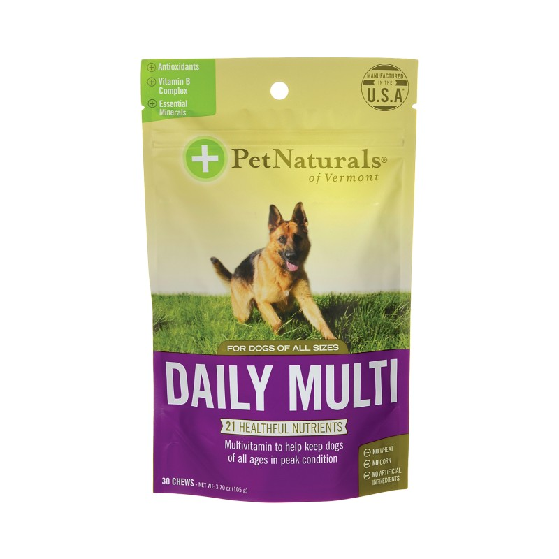 Daily Multi for Dogs, 30 Chews