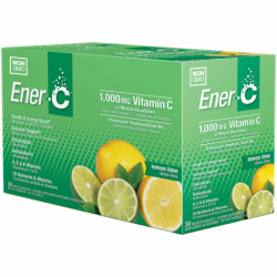 Vitamin C Effervescent Powdered Drink Mix  Lemon Lime, 1,000 mg 30 Pkts