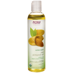 Organic Sweet Almond Oil, 8 fl oz (237 mL) Liquid
