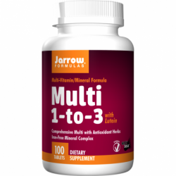 Multi 1 to 3 with Lutein, 100 Tabs