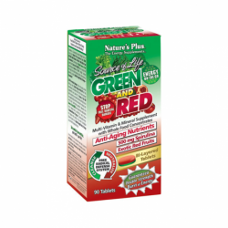 Source of Life Green and Red, 90 Tabs