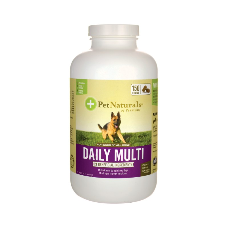 Daily Multi for Dogs, 150 Chews