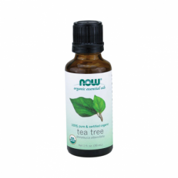 Tea Tree Oil Certified Organic, 1 fl oz (30 mL) Liquid
