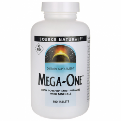 MegaOne  No Iron, 180 Tabs