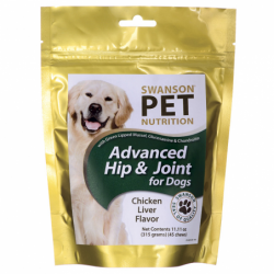 Advanced Hip & Joint for Dogs, 11.11 oz (315 grams) Pkg