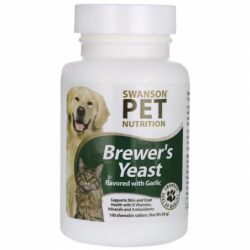 Brewers Yeast with Garlic, 100 Chwbls