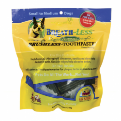 BreathLess Chewable Toothpaste SmM Dog, 12 oz (340 grams) Pkg