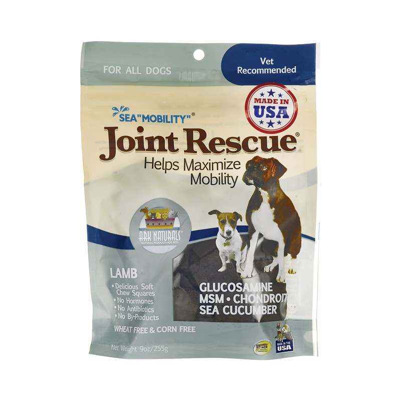 Sea Mobility Joint Rescue Lamb Chews, 9 oz (255 grams) Pkg