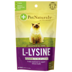 LLysine for Cats  Chicken Liver Flavored, 60 Chews