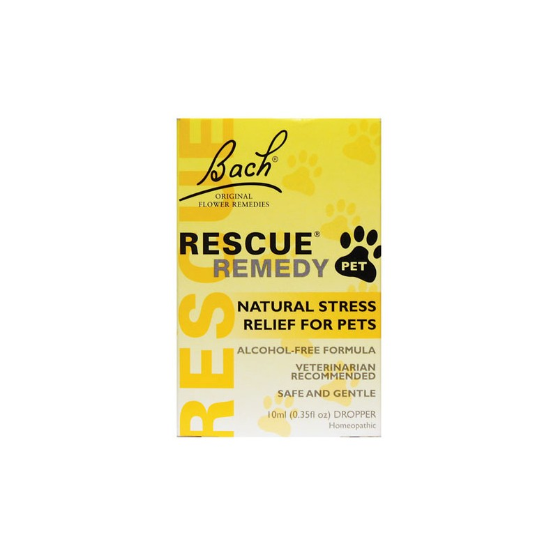 Rescue Remedy Natural Stress Relief for Pets, 0.35 fl oz (10 mL) Liquid