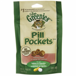 Pill Pockets For Cats Salmon, 45 Ct