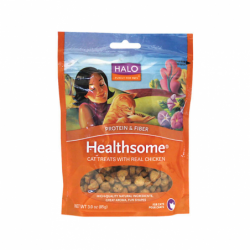 Healthsome Cat Treats with Real Chicken, 3 oz Pkg