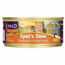 Spots Stew for Cats  Chicken, 5.5 oz Can