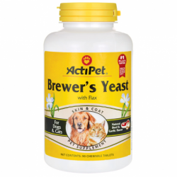 Brewers Yeast For Dogs & Cats, 90 Chwbls