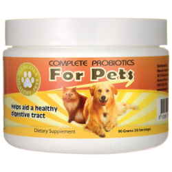 Complete Probiotics for Pets, 90 grams Pwdr