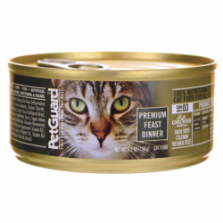 Canned Cat Food Premium Feast Dinner, 5.5 oz Can