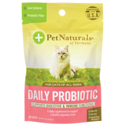 Daily Probiotic for Cats, 30 Chews