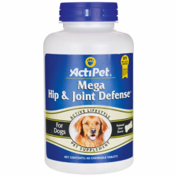 Mega Hip & Joint Defense For Dogs, 60 Chwbls