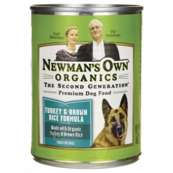 Premium Dog Food Turkey & Brown Rice, 12.7 oz Can