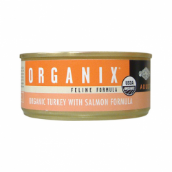 Organix Feline Turkey with Salmon, 5.5 oz Can