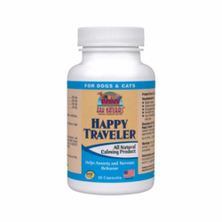 Happy Traveler for Dogs & Cats, 30 Caps