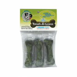 BreathALicious Medium Dogs, 6 Ct