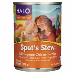 Spots Stew for Dogs  Chicken, 13.2 oz Can