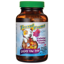 Travel Paws  Natural Maple Vanilla Flavor, 60 Tabs