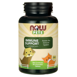 NOW Pets Immune Support For DogsCats, 90 Chwbls