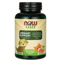 NOW Pets Urinary Support For DogsCats, 90 Chwbls