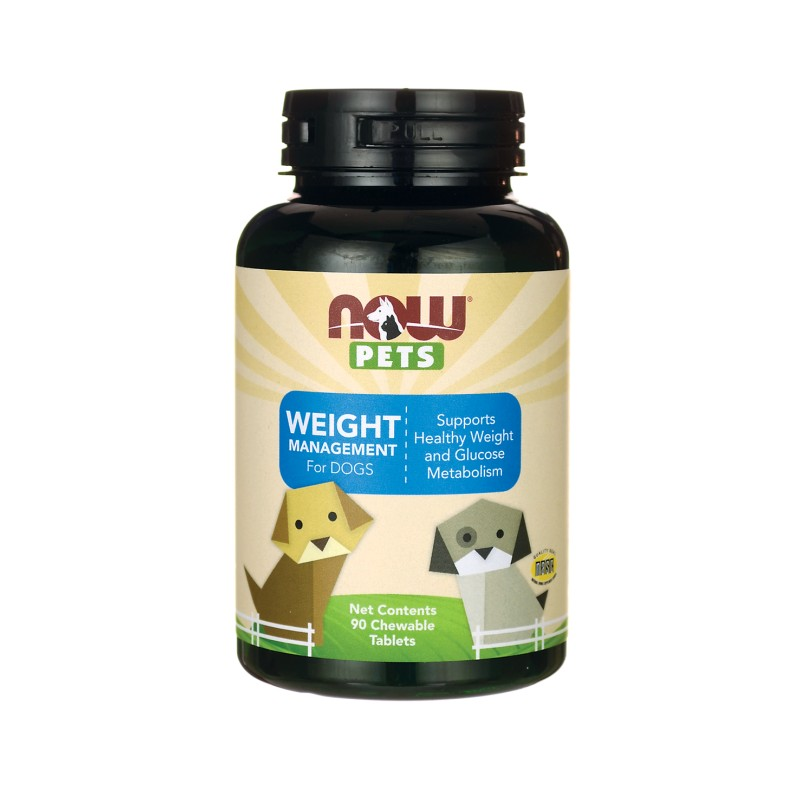 NOW Pets Weight Management For Dogs, 90 Chwbls