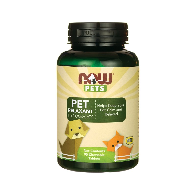 NOW Pets Pet Relaxant For DogsCats, 90 Chwbls