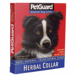 Natural Herbal Dog Collar  22 in, 1 Unit