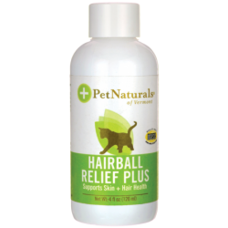 Hairball Relief Plus for Cats, 4 fl oz (120 mL) Liquid