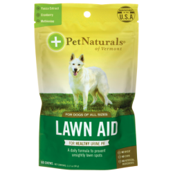 Lawn Aid for Dogs, 60 Chews