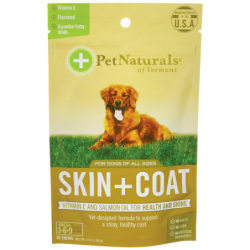 Skin  Coat for Dogs, 30 Chews
