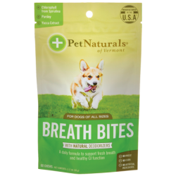 Breath Bites for Dogs, 60 Chews