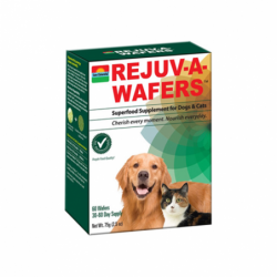 RejuvAWafers for Dogs & Cats, 60 Wafers
