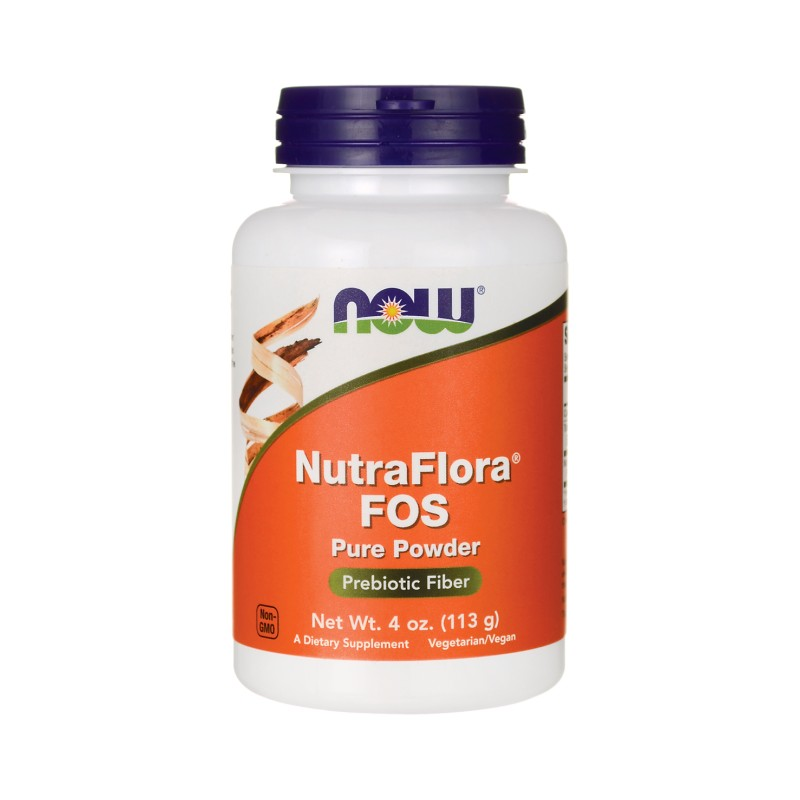 NutraFlora FOS Pure Powder, 4 oz (113 grams) Pwdr